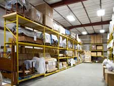 harpdpack distributors warehouse interior